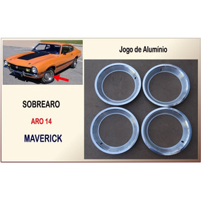 Sobre Aro Maverick Aro 14 Jogo Sobrearo Aluminio 6,5 Cm