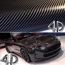 Adesivo Fibra De Carbono 4d (1,5m X 1m) O Mais Barato Do M L