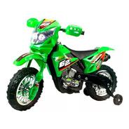 Moto Cross Nene Electrica A Bateria 6v 7278 Babymovil Full