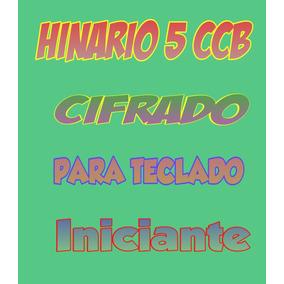 Hinário Ccb Cifrado Para Teclado Nº 5 (pdf)-nível Iniciante