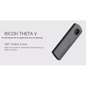 Ricoh Theta V Spherical Camera 360º 4k Vr Novo P. Entrega Sp
