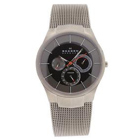 8a46987f763 Relógio Skagen Denmark Men s Watch 809xlttm Titanium. Paraná · Relógio  Skagen Mens Titanium Quartz Silve - 206909