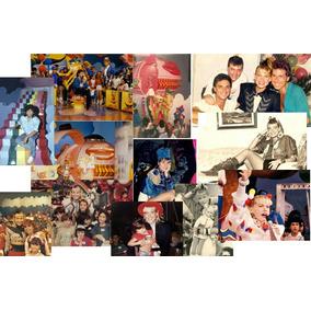 Lote De Fotos Dos Bastidores Do Xou Da Xuxa Dos Anos 80 E 90