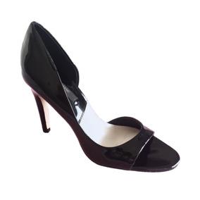 Zapatos Sandalias De Charol Con Taco Zara Basics Importados