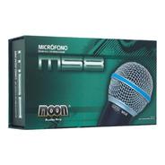 Microfono De Mano Dinamico Moon M58 Cable De Regalo