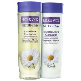 Nick & Vick Nutri-hair Clareador Kit (2 Produtos) Blz