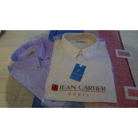 Camisa De Hombre M/corta. T/46 Jean Cartier Z/belgrano.