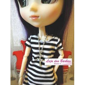 Corrente Crucifixo Colar Para Boneca Blythe * Barbie * Ken