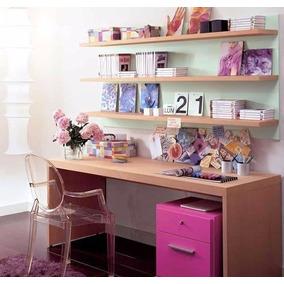 escritorio moderno juvenil organizador feller muebles