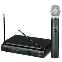 Microfone Sem Fio Uhf Karsect Kru 301 M