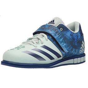 Tenis adidas Powerlift Trainer 3 Alterofilia Blanco Azul