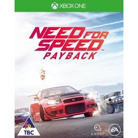 Need For Speed Payback - Xbox One - Codigo !!!
