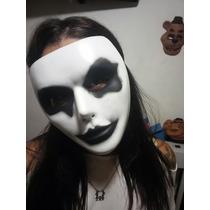 Mascara Plastica Black White Negra Blanca Obras Fiestas Cump