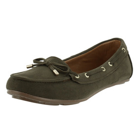 Zapato Mocasin Verde Casual Dama Mujer Dorothy Gaynor