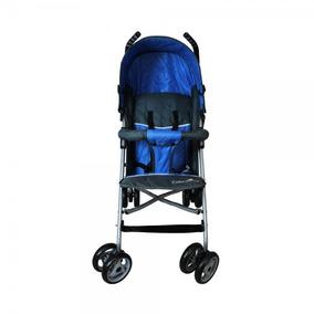 Carrinho De Bebê Passeio Guarda Chuva Veloce Azul