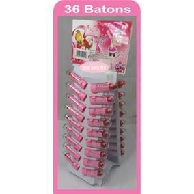 Batom Mini Cartela C/36 - Mini Batom Infantil