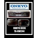Onkyo Grabadora Deck Doble Ta-rw244