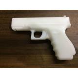 Blue Gun Pistola G-25 Treinamento Defesa Pessoal Resistente