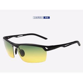 Óculos De Visão Noturna Dirigir Lentes Amarela / Âmbar