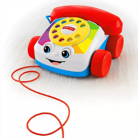Telefono Parlanchin Fisher Price Juguete Bebe Luces Y Sonido
