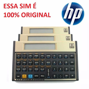Calculadora Financeira Hp 12c Gold Original Português Hp12c