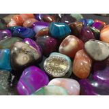 Hermosas Agatas Piedras Roladas 500 Grs Hermosas !!