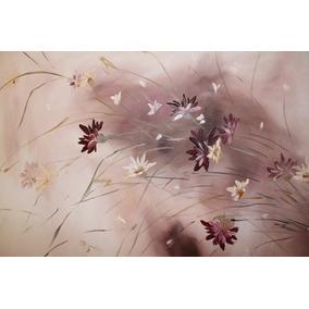 Arte ,cuadro Pintura Oleo Moderno Decoracion N/ Diptico