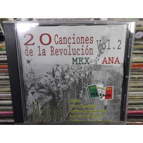20 Canciones De La Revolucion Mexicana Vol.2 Cd