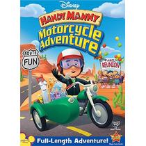 Pelicula Handy Manny:manny Manitas Aventura De La Motocicle