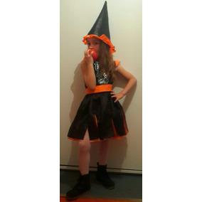 Disfraz Bruja Brujita Nena Halloween Infantil