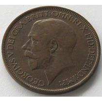 Gran Bretaña 1/2 Penny Año 1924 Rey Georg V