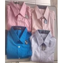 Camisa Social Barato De Boa Qualidade Oferta Kit Com 3