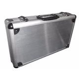 Maleta Alumínio Pequena Forrada - Lee - Note - Instrumentos