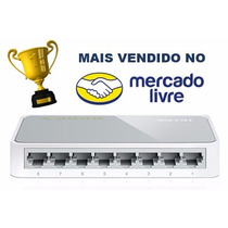 Hub Switch 8 Portas Tp-link Tl-sf1008d 10/100 Pronta Entrega