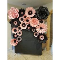 Flores Gigantes De Papel Para Fiestas / Eventos /decoración