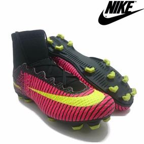 Chuteira Botinha Campo Nike Masculino Feminino Cr7 Neymar Fc