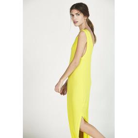 Vestido Maria Cher Bolonia Amarillo Original