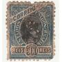 Selo Antigo - Brasil - Correio - 1908 - 500 Réis - Ab