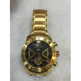 Relógio Bvgari Dourado Automático Frete Gratis