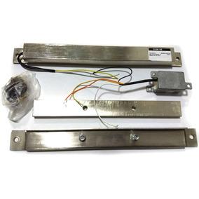 Fechadura Eletroima Clean 100 12v S/sensor Inox Automatiza