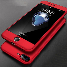 Carcasa Case Protector 360° Iphone 7/8plus + Vidrio Templado