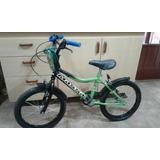 Bicicleta Rodado 16 Como Nueva Motivo Ben 10 Hermosa