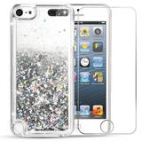 Ipod Touch 6 Case Ipod Touch 5 Case Vego Bling Glitt -plata
