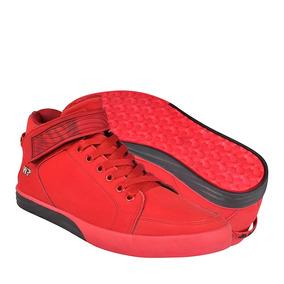 Zapatos Atleticos Y Urbanos Whats Up 14478 26-29 Suede Rojo