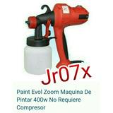 Pistola Para Pintar Maquina Compresor Paint Zoom Evol