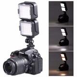 Lampara De Luz Led Camara Canon Nikon *envio Gratis