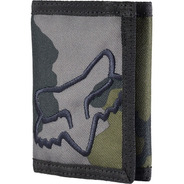 Cartera Fox Mr. Clean Velcro Verde/militar Casual