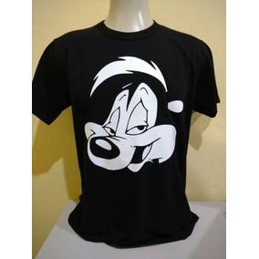Camiseta Camisa Pepe Le Pew Slash Gambá Looney Tunes Oficial