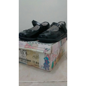Zapatos Niña Charol Negro