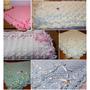 Mantas -pañoletas -mantillas Para Bebé - Tejido Artesanal